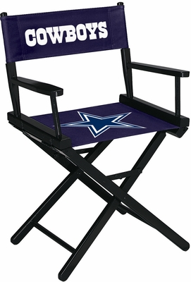 Imperial International Dallas Cowboys Table Height Directors Chair