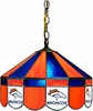 "Imperial International Denver Broncos 16"" Glass Lamp"