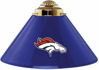Imperial International Denver Broncos 3 Shade Metal Lamp