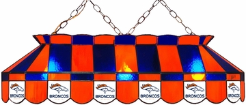 "Imperial International Denver Broncos 40"" Glass Lamp"