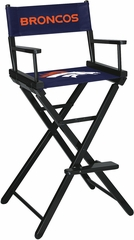 Imperial International Denver Broncos Bar Height Directors Chair