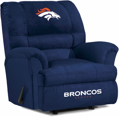 Imperial International Denver Broncos Big Daddy Microfiber Recliner