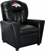 Imperial International Denver Broncos Faux Leather Kids Recliner