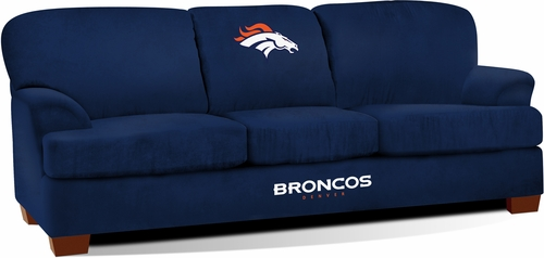 Imperial International Denver Broncos First Team Microfiber Sofa