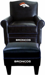 Imperial International Denver Broncos Game Time Chair & Ottoman