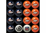Imperial International Denver Broncos Home Versus Away Billiard Ball Set