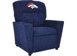 Imperial International Denver Broncos Kids Microfiber Recliner