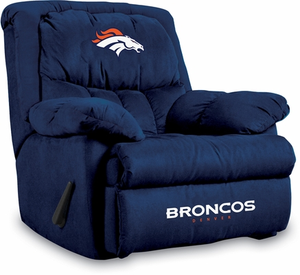 Imperial International Denver Broncos Microfiber Home Team Recliner