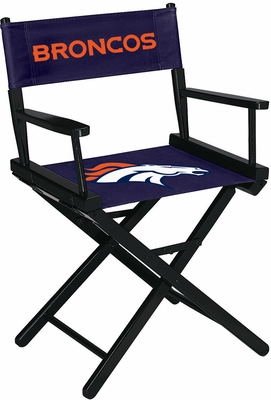 Imperial International Denver Broncos Table Height Directors Chair
