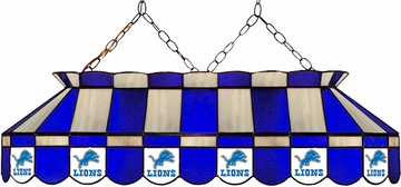 "Imperial International Detroit Lions 40"" Glass Lamp"