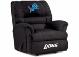 Imperial International Detroit Lions Big Daddy Microfiber Recliner
