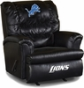 Imperial International Detroit Lions Leather Big Daddy Recliner