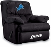 Imperial International Detroit Lions Microfiber Home Team Recliner