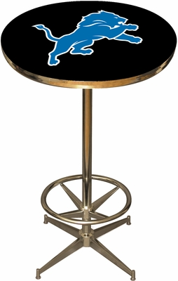 Imperial International Detroit Lions Pub Table