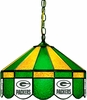 "Imperial International Green Bay Packers 16"" Glass Lamp"