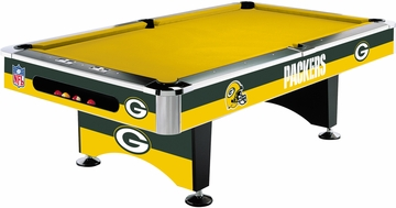 Imperial International Green Bay Packers 8' Pool Table
