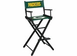 Imperial International Green Bay Packers Bar Height Directors Chair