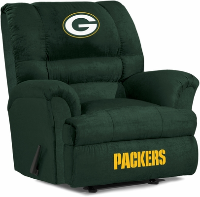 Imperial International Green Bay Packers Big Daddy Microfiber Recliner