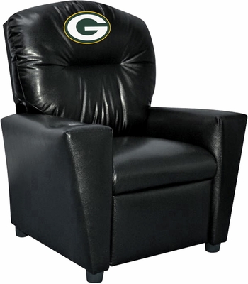 Imperial International Green Bay Packers Faux Leather Kids Recliner
