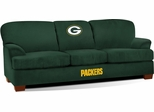 Imperial International Green Bay Packers First Team Microfiber Sofa