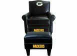 Imperial International Green Bay Packers Game Time Chair & Ottoman