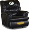 Imperial International Green Bay Packers Leather Big Daddy Recliner