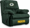 Imperial International Green Bay Packers Microfiber Home Team Recliner
