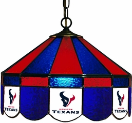 "Imperial International Houston Texans 16"" Glass Lamp"