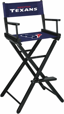 Imperial International Houston Texans Bar Height Directors Chair