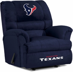Imperial International Houston Texans Big Daddy Microfiber Recliner