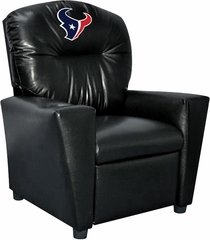 Imperial International Houston Texans Faux Leather Kids Recliner