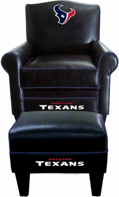 Imperial International Houston Texans Game Time Chair & Ottoman