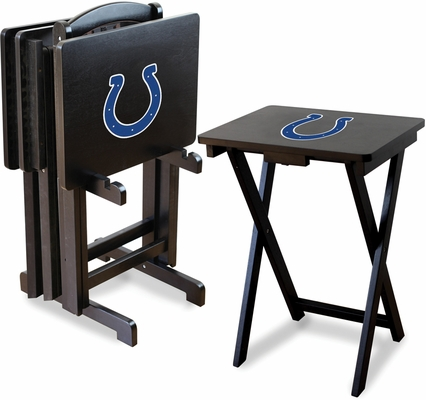 Imperial International Indianapolis Colts 4 TV Trays With Stand