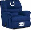 Imperial International Indianapolis Colts Big Daddy Microfiber Recliner