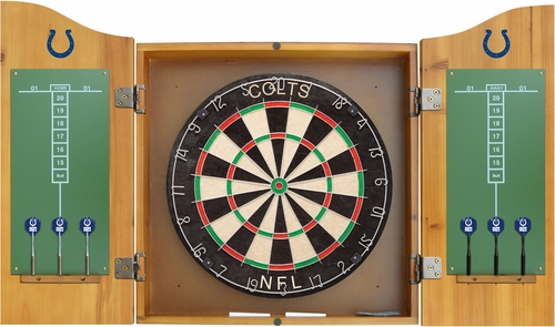 Imperial International Indianapolis Colts Dart Cabinet