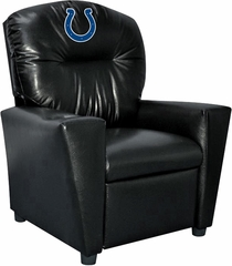 Imperial International Indianapolis Colts Faux Leather Kids Recliner
