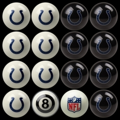Imperial International Indianapolis Colts Home Versus Away Billiard Ball Set