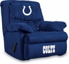 Imperial International Indianapolis Colts Microfiber Home Team Recliner