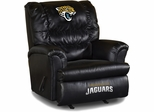 Imperial International Jacksonville Jaguars Leather Big Daddy Recliner