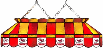 "Imperial International Kansas City Chiefs 40"" Glass Lamp"