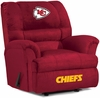 Imperial International Kansas City Chiefs Big Daddy Microfiber Recliner