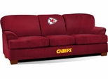 Imperial International Kansas City Chiefs First Team Microfiber Sofa
