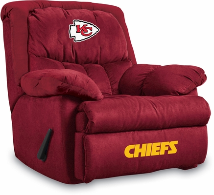 Imperial International Kansas City Chiefs Microfiber Home Team Recliner