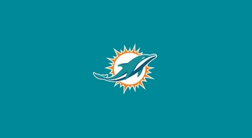 Imperial International Miami Dolphins 8' Billiard Cloth
