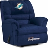 Imperial International Miami Dolphins Big Daddy Microfiber Recliner