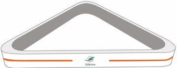 Imperial International Miami Dolphins Billiard Triangle