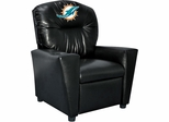 Imperial International Miami Dolphins Faux Leather Kids Recliner