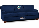 Imperial International Miami Dolphins First Team Microfiber Sofa