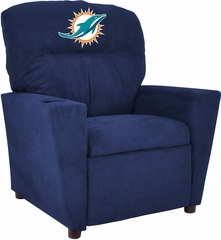 Imperial International Miami Dolphins Kids Microfiber Recliner