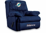 Imperial International Miami Dolphins Microfiber Home Team Recliner